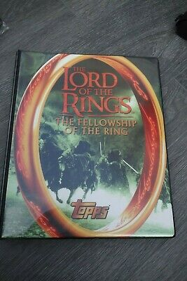Ultra Rare Lord of The Rings Trading Cards, Binder and signed Boromir and Pippin
