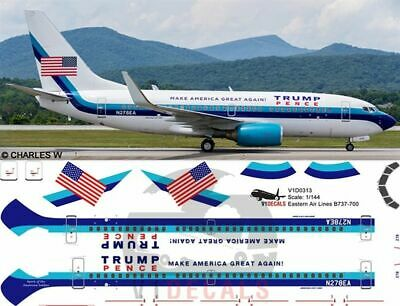 V1 Decals Boeing 737-700 Eastern Airlines for 1//144 Revell Model Airplane Kit