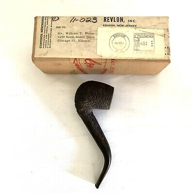 """vintage Pupe's Rustic Pipe 43 Made In London England 6"""""""
