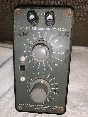 Heathkit Model RS-1  Resistance Substitution Box