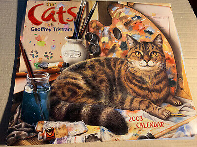 The Cats Of Geoffrey Tristam 2003 Calender Repro Art