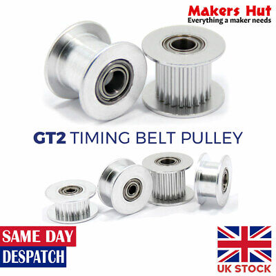 3M GT3 10mm Timing Belt Smooth Tooth Idler Drive Pulley 15 16 20 24 30 36 48 60T