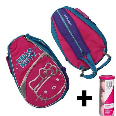 Includes 3 Pink Tennis Balls Tennis Backpack Bundle Stonebridge Mall Hello Kitty Go