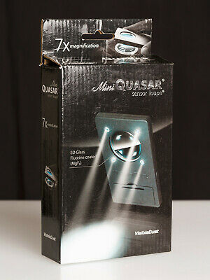 VISIBLEDUST Mini Quasar Sensor Loupe 7x Magnification ED Glass, Fluorine Coated