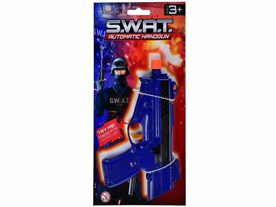 kids S.W.A.T handgun with light and sound.shooting shoot stocking filler play