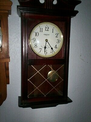 Antique Style Wall Clock - Constant Quartz Westminster Chime