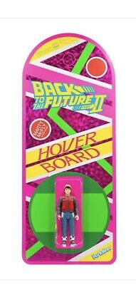 Back To The Future ReAction Figure - Marty McFly Hoverboard (SDCC 2020) Super7