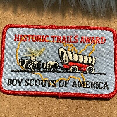 Philmont Scout Ranch Historic Trails Award Boy Scouts of America Patch