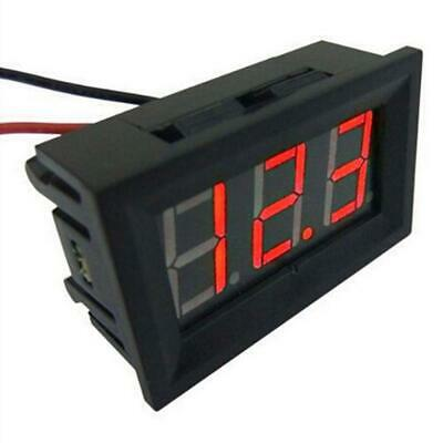 Digital DC Voltmeter Amperemeter Mini 0,36 In 2,4V DC-30V 2-Draht LED Digit