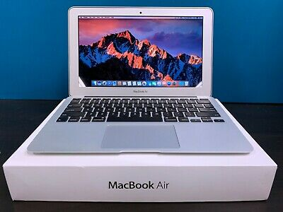 Apple MacBook Air 11 Laptop / 3.3GHZ Core i7 / 256GB SSD / OSX-2019 / WARRANTY