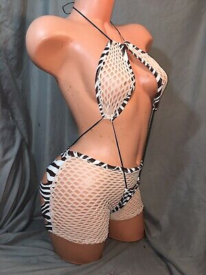 exotic dancewear outfit size medium bust size B/C