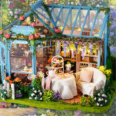 DIY Dolls House Handcraft Wooden Miniature Project My Little Villa Toys Gifts UK