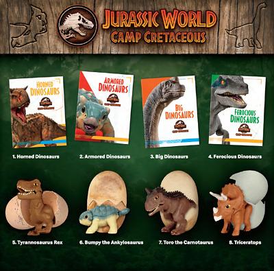 Jurassic World Camp Cretaceous Happy Meal Toys McDonalds 2020 Complete Sets #GG