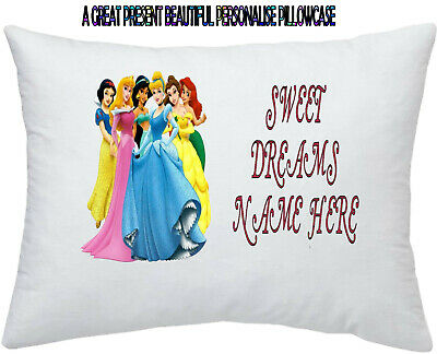 Disney Princess Belle #1 Personalised Pillowcase Pillow Case Add Any Name