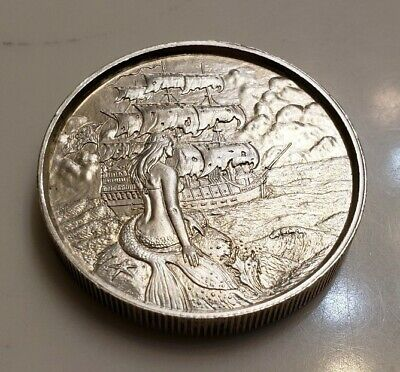 """2oz Privateer Ultra High Relief Silver Round /""""The Storm/"""" Series #1 FREE SHIPPING"""