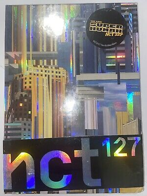 NCT 127 4th Mini Album [NCT #127 WE ARE SUPERHUMAN] CD+P.Book+P.Card+Circle Card