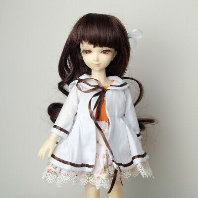 "Panda Outfit Kit White Hoody//Skirt For 1//6  11/""  BJD AOD AS YOSD Dollfie  GW"