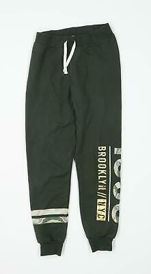 Primark Girls Camouflage Green Tracksuit Bottoms Age 11-12