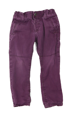 Preworn Boys Purple Jeans Age 3-4