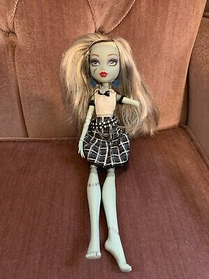 Monster High Frankie Stein Lights Sounds Ghouls Alive Doll Clothes Mattel