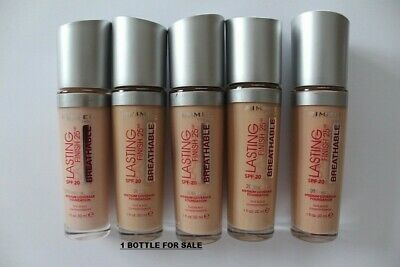 Rimmel Lasting Finish 25hr breathable Foundation -101 CLASSIC IVORY-30 ML