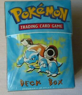 Pokemon Deck Box  - 60 Ultra Pro Deck Protector Card Sleeves - NO CARDS - A