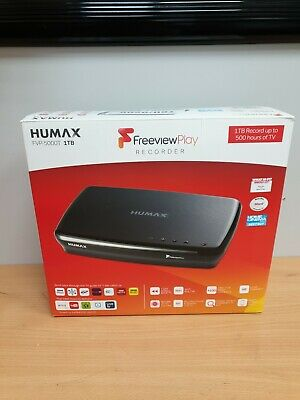 Humax FVP5000T-1TB Smart Freeview Play HD TV Recorder 119509