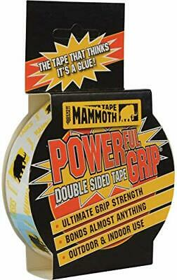 Mammoth Powerful Grip Tape - Re-enforced double-sided tape - 12 12 mm x 2.5 m
