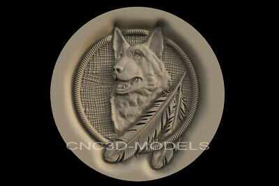 3D Model STL for CNC Router Carving Artcam Aspire Wood Forest  Pano Animal D229