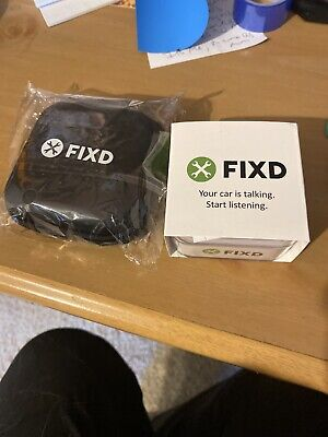 Fixd Obd-Ii Active Car Health Monitor Engine Code Reader Diagnostic Scanner Tool