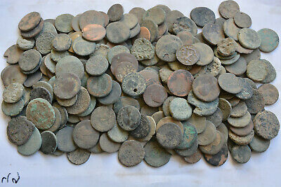 229 Roman bronze Large size coins FOR CLEANING AS Follis Dupondius Sestertius