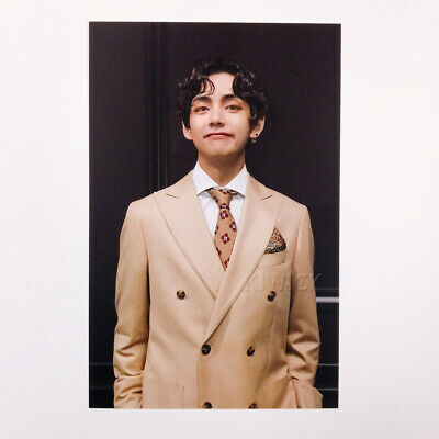 BTS MAP OF THE SOUL : 7 Borahae Gift Photo Post Card - V Tae Tae 01 + Store Gift