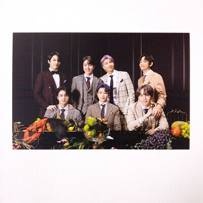 BTS MAP OF THE SOUL : 7 Borahae Gift Photo Post Card - BTS 01 + Store Gift