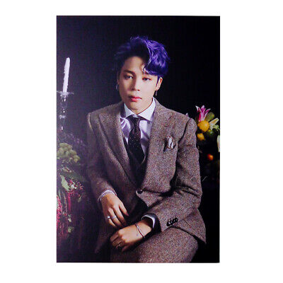 BTS MAP OF THE SOUL : 7 Borahae Gift Photo Post Card - JIMIN 01 + Store Gift