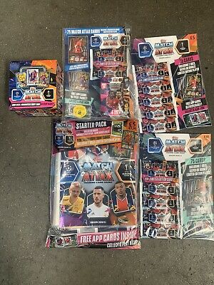 Topps Match Attax UEFA 2020/21 Season Brand New Pack Bundle