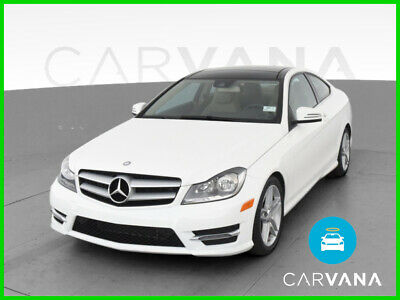 2013 Mercedes-Benz C-Class C-Class C 350 4MATIC Coupe 2D V6 3.5 Liter Auto 7-Spd Touch Shift AWD Traction Control Electronic Stability