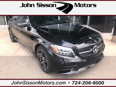2020 Mercedes-Benz C-Class C 300 Black Mercedes-Benz C-Class with 6 Miles available now!