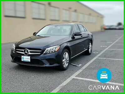 2019 Mercedes-Benz C-Class C 300 4MATIC AWD 4-Cyl Turbo 2.0 Liter Automatic 9-Spd 9G-Tronic Burmester Surround Sound ABS