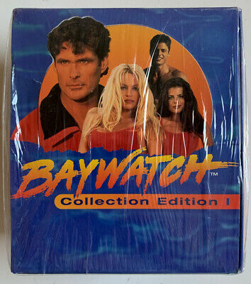 1995 Baywatch Collection Edition 1 Trading Card Sealed Box 36 Packs Autographed