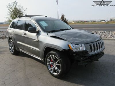 2012 Jeep Grand Cherokee SRT8 2012 Jeep Grand Cherokee Salvage Damaged Vehicle! Priced To Sell! Wont Last!!!