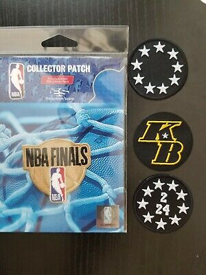 Kobe Bryant Patch KB LA Lakers 2020 Basketball Jersey NBA Finals All Star Game