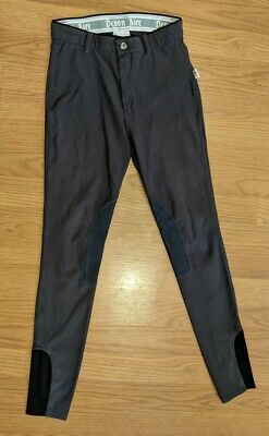 """Grey NWT Size 28 regular DEVON AIRE /""""North Park/"""" Riding Breeches Pants #210"""