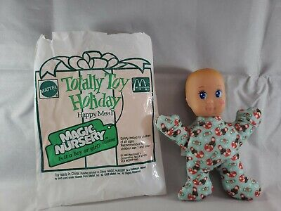 McDonalds Happy Meal Totally Toy Holiday Magic Nursery Baby Doll Boy /& Girl 1993