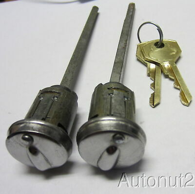 Dodge Plymouth Desoto Trunk Lock 1950 1951 1952 Nos Original With Yale Keys 40 00 Picclick