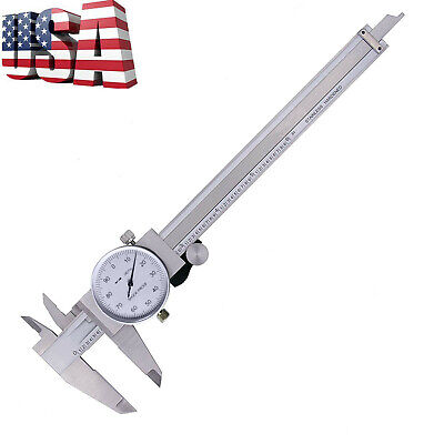 Dial Caliper 0-6 Inch Double Shock Proof Stainless Steel Body SA-E Measuring