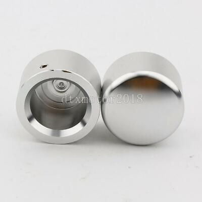 Kuryakyn 1226 Grooved Front Axle Nut Covers for 1984-2016 Harley Models