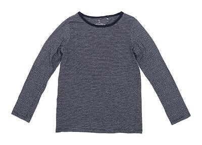 Next Boys Striped Black Top Age 10 Years