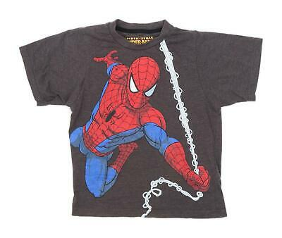 Primark Boys Grey Spider Man Top Age 9-10