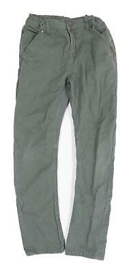 Marks & Spencer Boys Green Jeans Age 9-10 Years