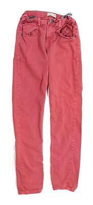 Zara Boys Red Jeans Age 11-12 Years